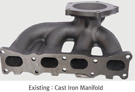 Existing : Cast Steel Manifold
